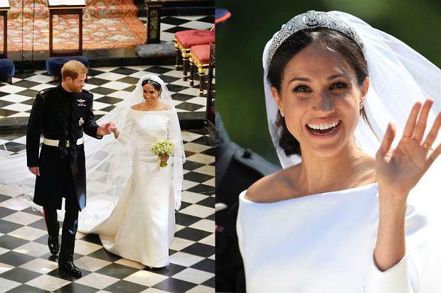 Księżna Sussex w dniu ślubu wyglądała naturalnie i raczej skromnie
