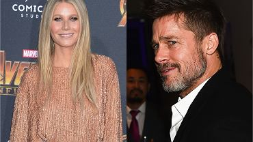 Gwyneth Paltrow i Brad Pitt