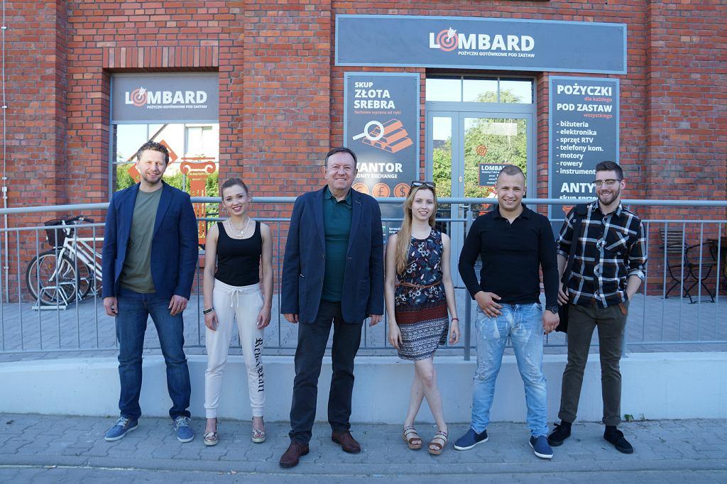 Bohaterowie serialu 'Lombard. Życie pod zastaw'