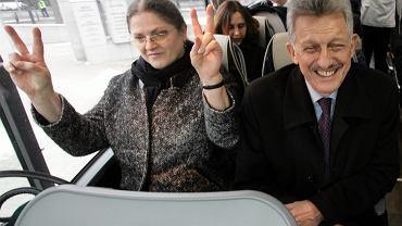 Krystyna Pawłowicz i Stanisław Piotrowicz