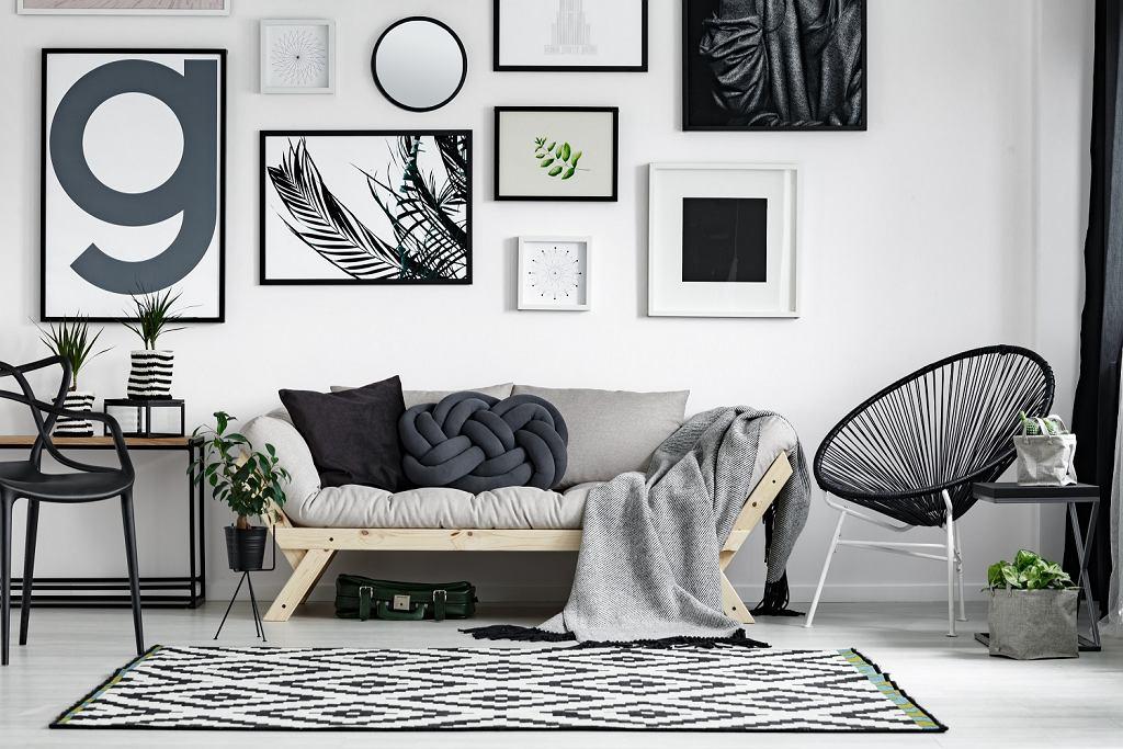 Dywan w geometryczne wzory