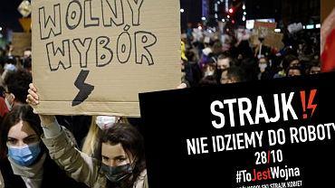 W środę kobiety zapowiadają strajk