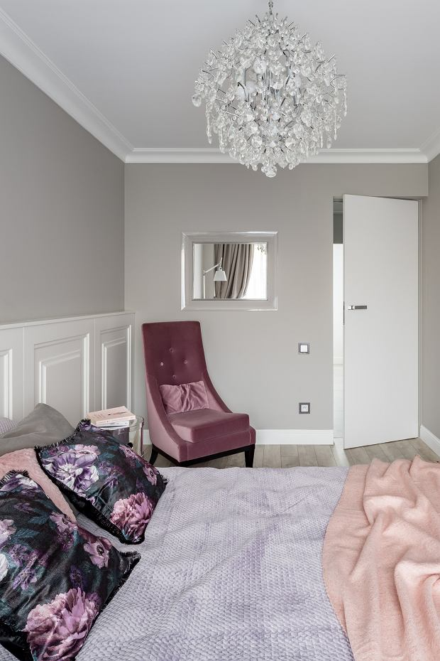 Mieszkanie z nutą paryskiej elegancji