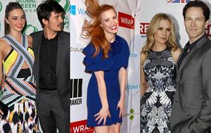 Miranda Kerr, Orlando Bloom, Jessica Chastain, Anna Paquin i Stephen Moyer