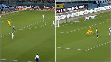 Samir Handanović popełnił fatalny błąd w meczu Interu z Hellasem