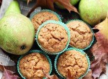Muffiny z gruszkami - ugotuj
