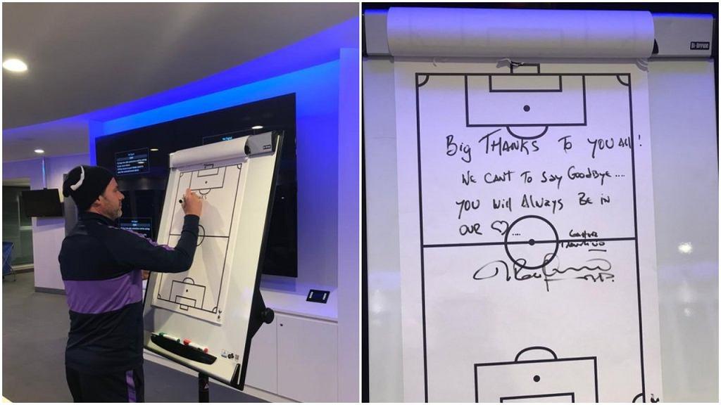 Ostatnia wiadomość Mauricio Pochettino do piłkarzy Tottenhamu Hotspur