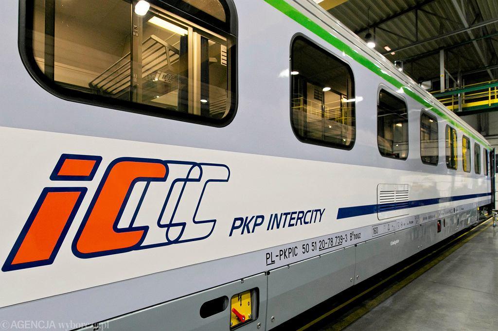 Pociąg PKP Intercity - zdjęcie ilustracyjne/Fot. Grażyna Marks / Agencja Gazeta