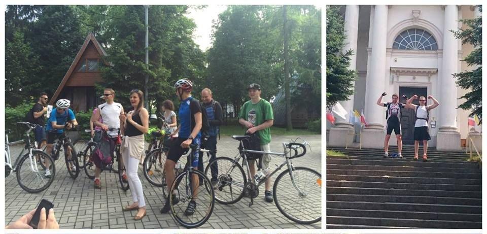 Zespół internetowykantor.pl poczas wycieczki po Wielkopolsce (fot. facebook.com/internetowykantorpl)