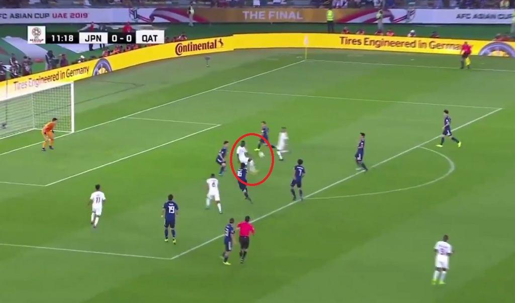 Reprezentacja Kataru objęła prowadzenie w 12. minucie, kiedy bramkę zdobył Ali Almoez