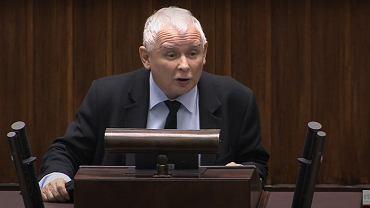 Jarosław Kaczyński do posłów: Macie krew na rękach