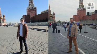 Simon Ostrovsky odtwarza zdjęcia rosyjskiego żołnierza Bato Dambajewa