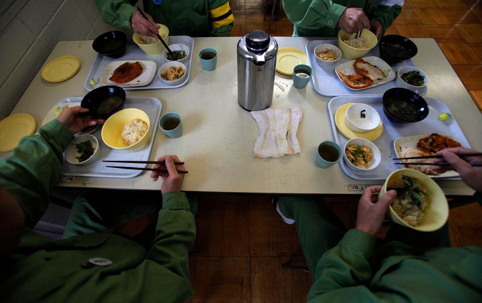 Wiekowi więźniowie w więzieniu w Onomichi w okolicach Hiroszimy.
