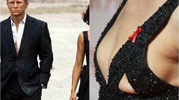 Zagrała dziewczynę Jamesa Bonda, w filmie 'Hitman' miała rozbierane sceny, teraz na imprezę przyszła w samych spodniach, a nagie piersi zakryła szelkami. Zachodnie media słusznie piszą, że niewiele pozostawiła wyobraźni. Mowa o ukraińskiej piękności, Oldze Kurylenko.