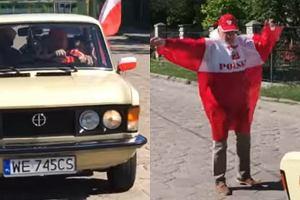Screen z teledysku 'Polska Biel i Czerwień'