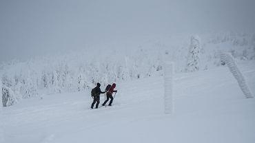 Zima w Karkonoszach - zdjęcie ilustracyjne