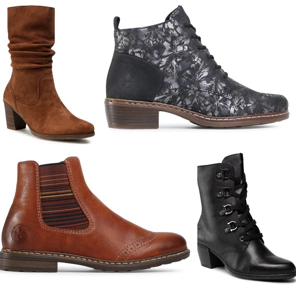 buty Rieker na jesień