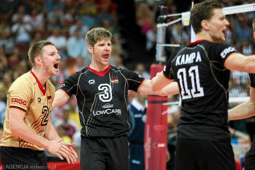 MŚ w siatkówce. Katowice. Niemcy - Korea 3:0