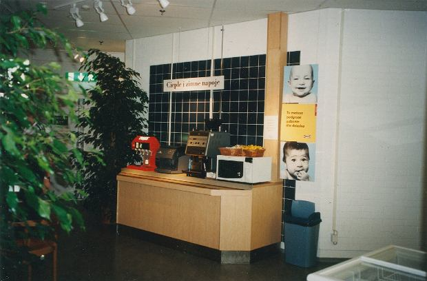 Restauracja IKEA w Krakowie - 1998 rok
