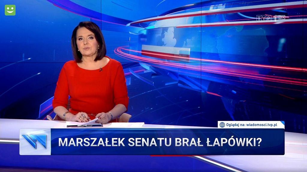 'Wiadomości' TVP, 09.01.2020 r.