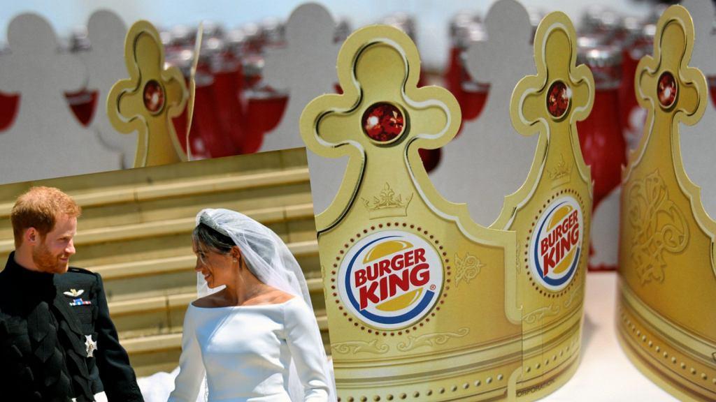 Burger King żartobliwie zaproponował pracę książęcej parze