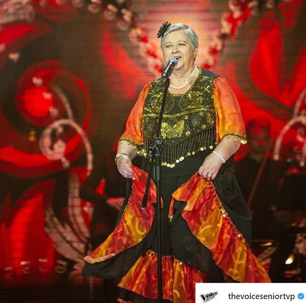 Anna Tchórzewska, 'The Voice Senior'