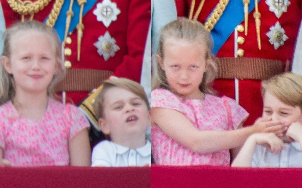 Urodziny Elżbiety II, Savannah ucisza księcia George'a