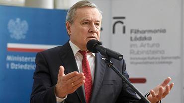 Minister Piotr Gliński