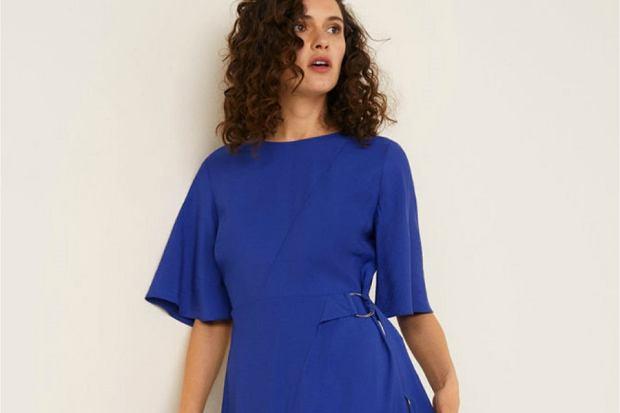 Zdjęcie numer 1 w galerii - Najpiękniejsze kobaltowe sukienki na wiosnę
