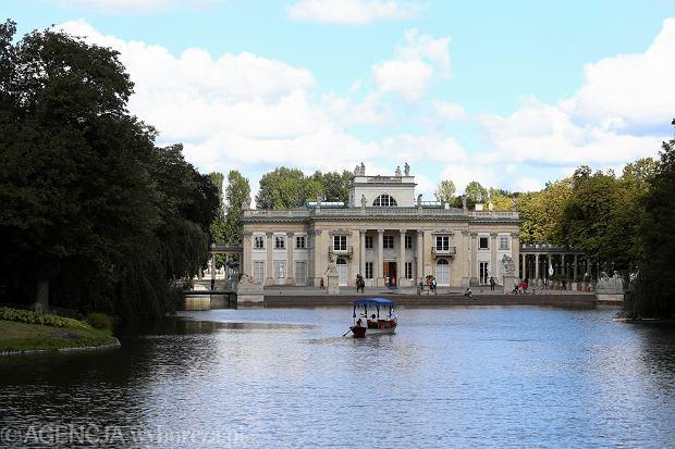 Pałac Na Wyspie W łazienkach Królewskich W Warszawie