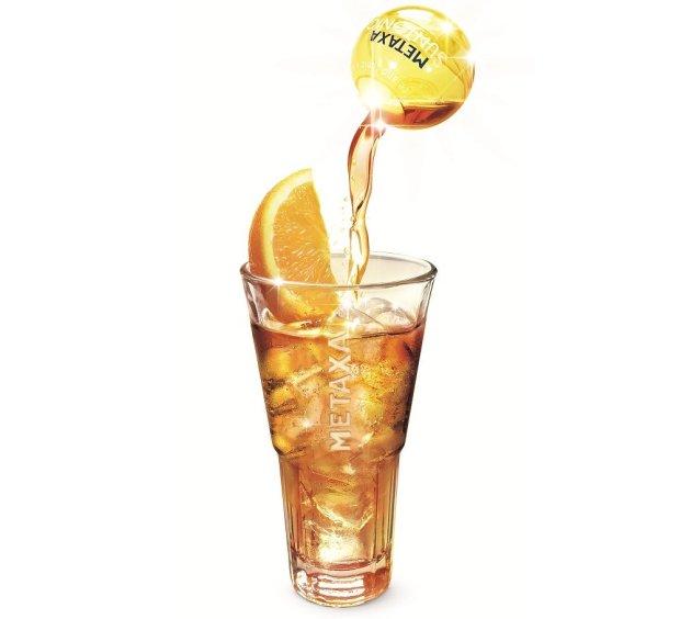 Suntonic, Metaxa drink