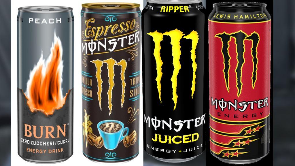 Produkty Monster Energy Limited wycofane ze sprzedaży