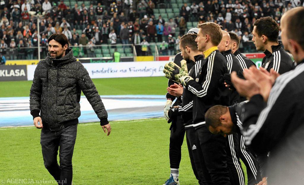 Ivica Vrdoljak żegna się z Legią