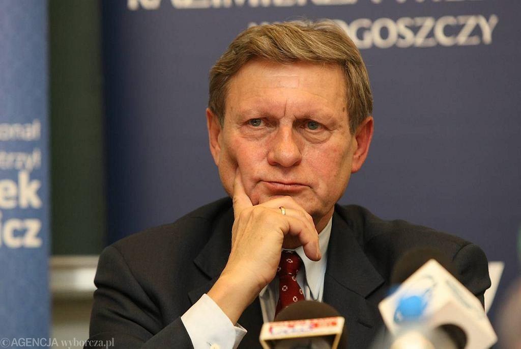 Prof. Leszek Balcerowicz na UKW