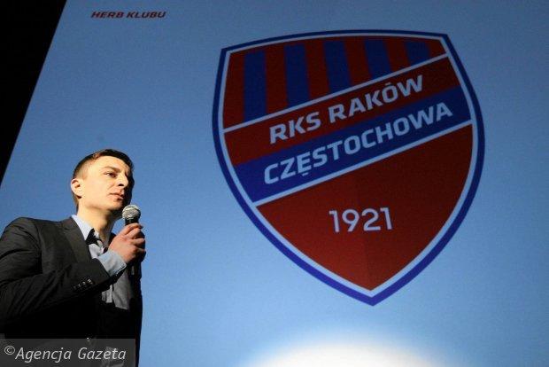 Właściciel Rakowa Michał Świerczewski