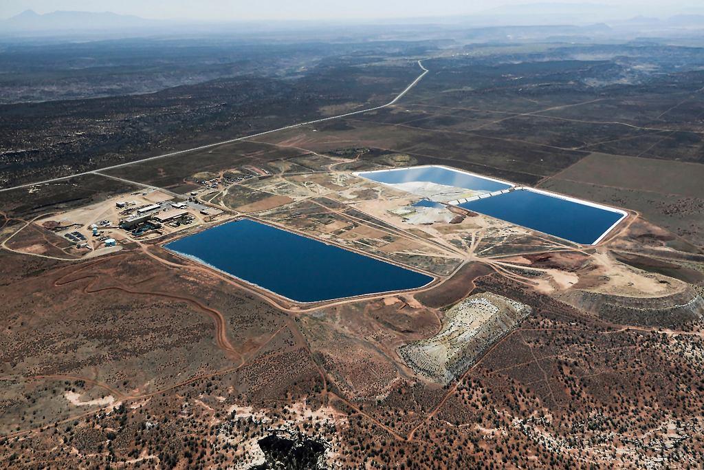 Zakład produkcji uranu White Mesa w południowo-wschodniej części stamu Utah w USA. Prezydent Donald Trump chce stworzyć rezerwę uranu.