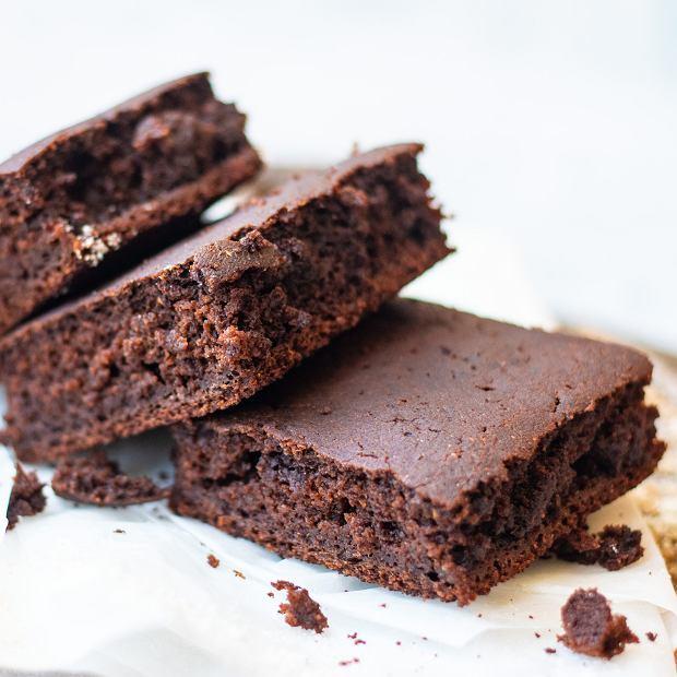 Brownie z karobem