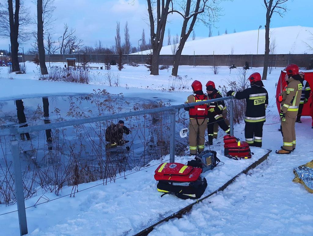 Ze stawu w Słupsku wyłowiono ciało 26-latka