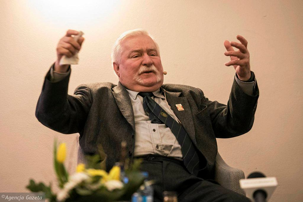 Wyborcza na żywo. Lech Wałęsa w Olsztynie