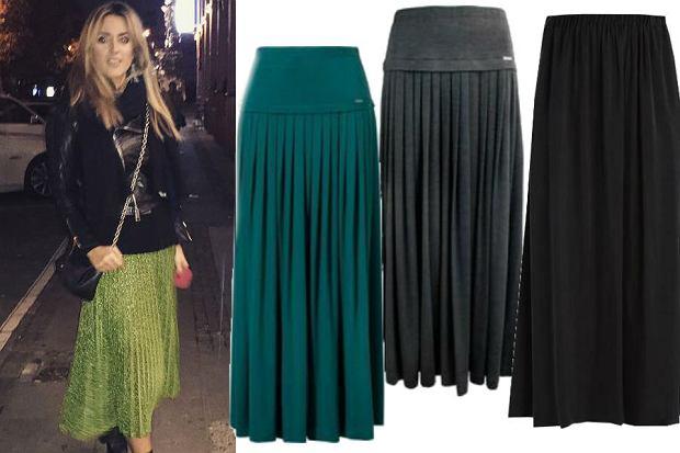 modne spódnice o długośći maxi na jesień