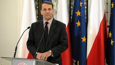 Marszałek Sejmu Radosław Sikorski