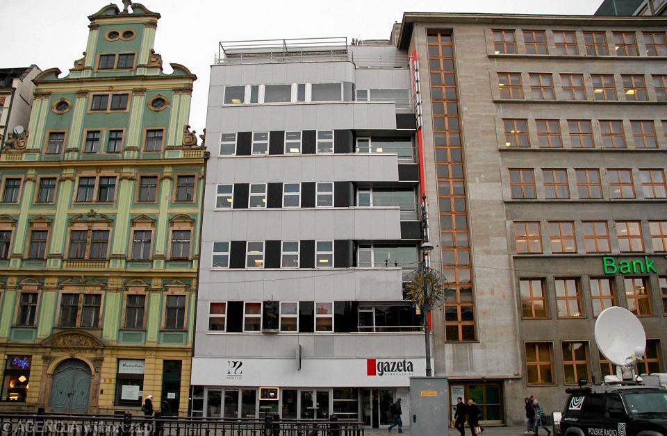 Siedziba redakcji wrocławskiej 'Wyborczej'