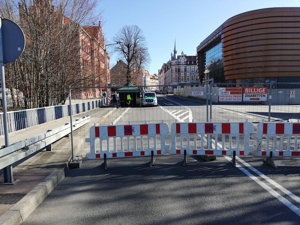 Zamknięta granica w Zgorzelcu