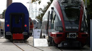 Pociąg bydgoskiej Pesy ED74