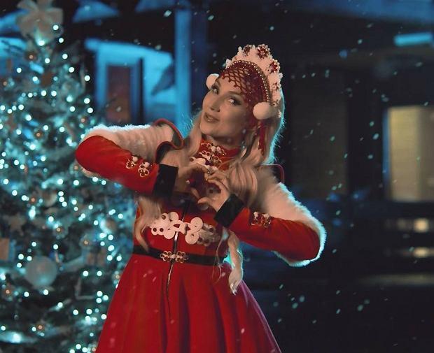 Cleo w świątecznej kampanii Coca-Coli