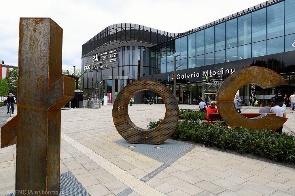 nowe centrum handlowe w Wraszawie