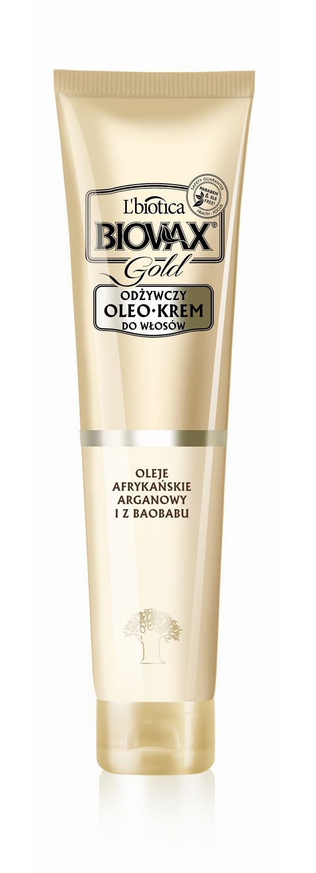 Złoto 24k & Olej Arganowy i Baobabu