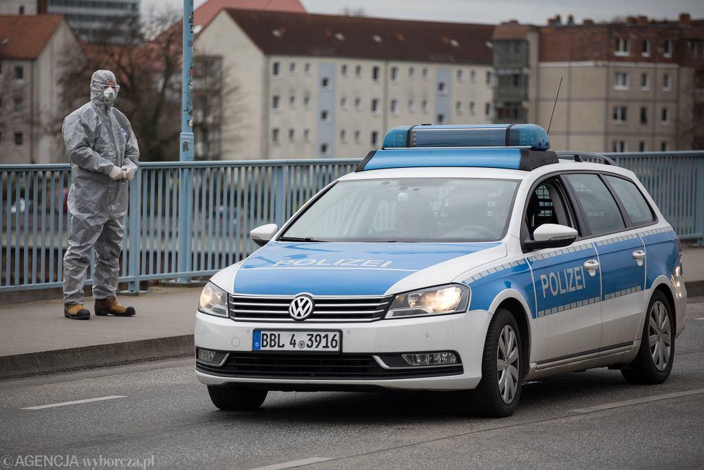 Przejście graniczne Polska - Niemcy w Słubicach. Wzmożone kontrole.