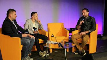 Paweł Biały (z prawej)