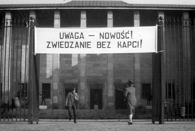 Muzeum Narodowe będzie można zwiedzić w kapciach